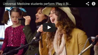 Universal Medicine Students Play it Big