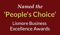 Universal Medicine winners people's choice award, Lismore Chamber of Commerce