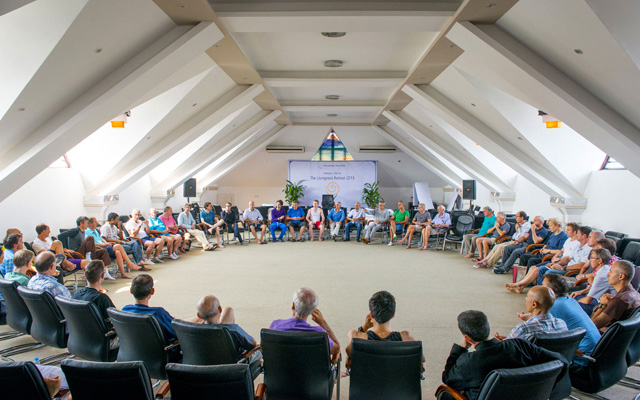 Universal Medicine Men's Circle at the UniMed Retreat